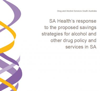 SA Health A & D Policy